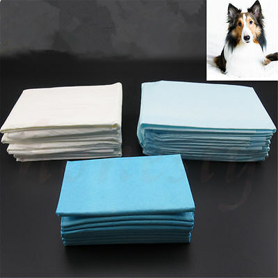 2/10/20x Puppy Trainer Pads Train Toilet Training Dog Pet Cat Pee Wee Sheets Mat