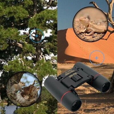 30x60 Quality Binoculars Small Compact Travel Pocket Lightweight Foldable Coated