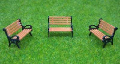 YZ30 10pcs Model Train Layout G 1:30 bench chair settee
