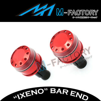 Fit Yamaha YP 250 / 400 Majesty All Year Billet IXENO Red Bar Ends
