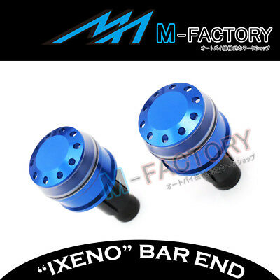 Fit Yamaha YP 250 / 400 Majesty All Year Billet IXENO Blue Bar Ends