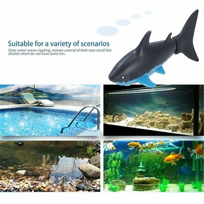 Mini RC Submarine 4 CH Remote Small Sharks With USB Christmas Gift for Kids GT