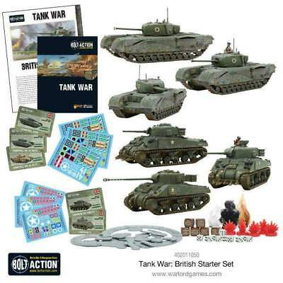 Warlord Games - Bolt Action - Tank War British Starter Set