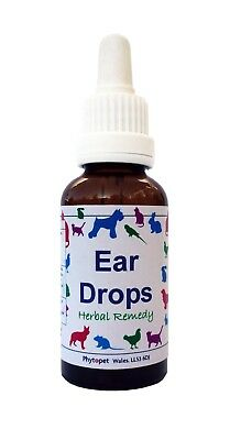 Phytopet Ear Drops - Ear Cleanser and Wax Softener 30ml/100ml