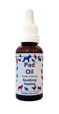 Phytopet Pad Oil - Soothing, Repairing, Herbal Oil for Paws 30ml
