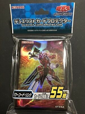 Yu-Gi-Oh! Official Card Sleeve Protector Power Code Link 55pcs Japanese