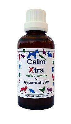 Phytopet Calm Xtra, Pet Cat Dog Calmer Anxiety Stress Relief, 30ml/100ml