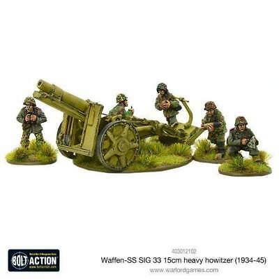 Warlord Games - Bolt Action - German Waffen-SS SIG 33 15cm heavy howitzer