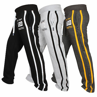 ARD Men's Fleece Joggers Track Suit Bottom Jogging Exercise Fitness Boxing MMA