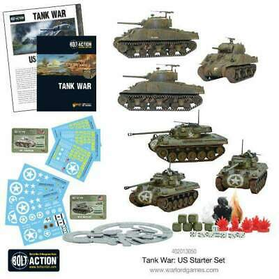 Warlord Games - Bolt Action - Tank War US Starter Set