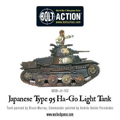 Warlord Games - Bolt Action - Japanese Type 95 Ha-Go light tank