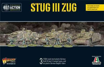 Warlord Games - Bolt Action - StuG III Zug (3) (plastic)