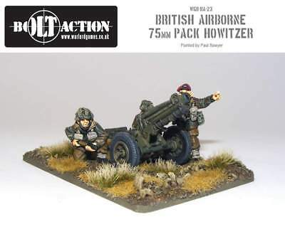 Warlord Games - Bolt Action - British Para 75mm Pack Howitzer & Crew