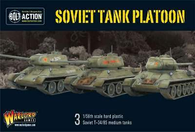 Warlord Games - Bolt Action - Bolt Action Soviet tank platoon (3)