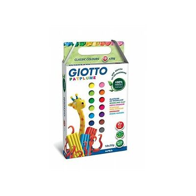 Patplume 18 Couleurs Assorties - GIOTTO - NEUF