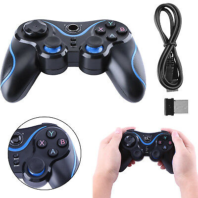 2.4GHz Wireless Video Game Pad Controller for TV Box PC Smart Phone PS3 Android