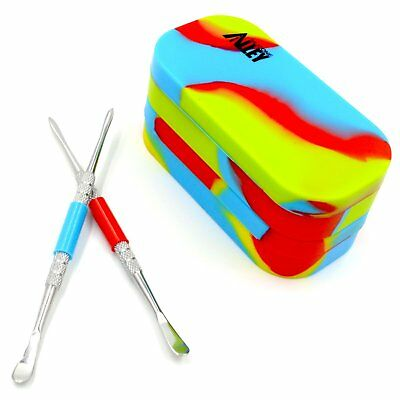 Silicone Alley, 2 Carving Tool + 2 Tie Dye-colored Multi-Compartment Wax