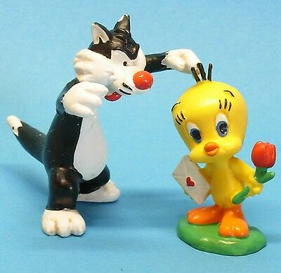 Bugs Bunny & Co :  KATER SYLVESTER mit TWEETY  Looney Tunes BULLY 1983