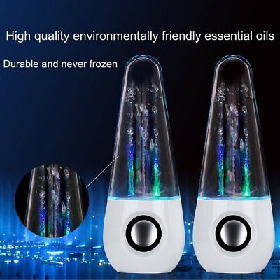 LED Dancing Water Music Light Speakers for Laptop for iPhone for iPad4/iPod AU