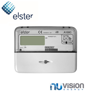 Elster 1-ph (1000 pulse/kWh) GENERATION METER 100A OFTEC CRN100p