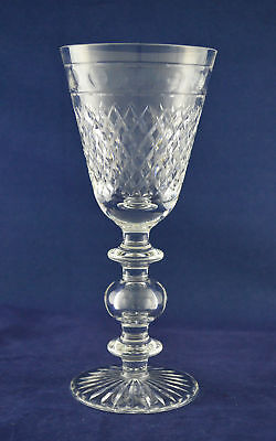 """Cumbria Crystal """"SILVERDALE"""" Baluster Goblet / Wine Glass – 22.5cms (8-7/8″) ..."""