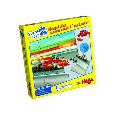 Puzzle rapide comme l'eclair - HABA - NEUF
