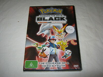 Pokemon - Black - The Movie - Brand New & Sealed - Region 4 - DVD