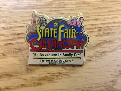 91st State Fair of Oklahoma An Adventure in Family Fun September 12-28, 1997 Pin