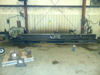 "1957 Monarch Heavy Duty Engine Lathe 27"" x 216"""
