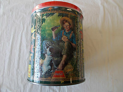 1998 COCA-COLA VINTAGE Collectable Coke Jigsaw Puzzle & Tin Can~STILL SEALED