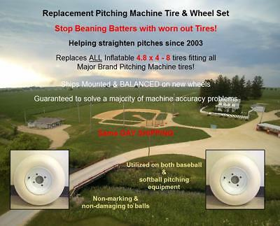 Pitching Tire For Either 1 Or 2 Tire pitching machines (tire & wheel combo)