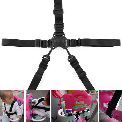 5 Point Harness Car Baby Stroller Safety belt Strap Infant Kids High Chair Pram