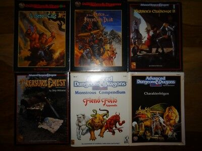 AD&D + AD&D 2nd Edition NEW SEALED & still in SHRINK WRAP (AD&D, TSR)