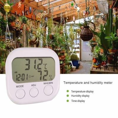 Digital LCD Thermometer Temperature Weather Hygrometer Humidity Moisture Meter