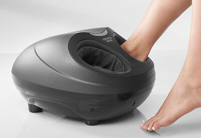 Sharper Image 3-in-1 Shaitsu Dome Foot Massager with Heat