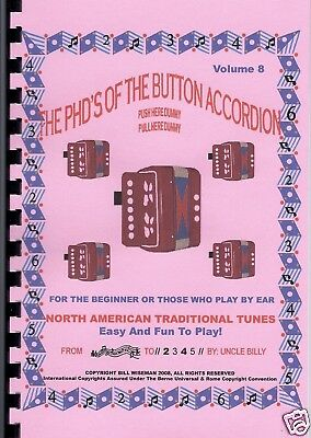 CHILDREN'S ACCORDION BOOK N American Traditional Tunes, Easy Fun Play By  Numbers