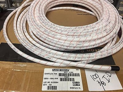 "TUBING 3/8"" I.D. x .535"" O.D. COCA-COLA *RED-LINE 100' *FLAVOR SHIELD"""
