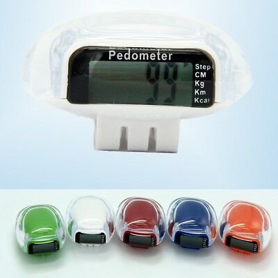 1x Multi-function LCD Display Shoes Lace Pedometer Waterproof Passometer Runners