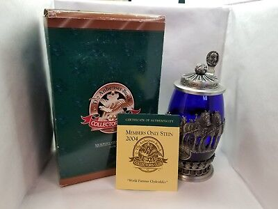 2004 Anheuser Busch Members Only Stein; World Famous Clydesdales
