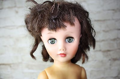 "Vintage doll no markings  18""  Beautiful Face- C"