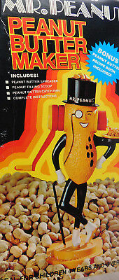 Vintage Picam As Seen on TV Mr. Peanut Peanut Butter Maker -NEW IN BOX!