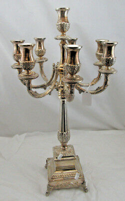 """Stunning Candelabra 8 branch - Sterling Silver 925 - Height 22"""" 1730g Pre Owned"""