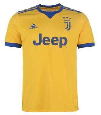 bef83684e adidas Juventus Turin Away Away Jersey Blue Gold 2017 ALL SIZES NEW