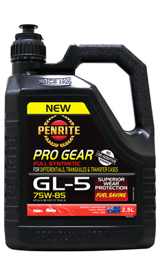 Penrite PRO GEAR GL5 75W85  Full Syn Gear Oil suitable for LSD Differentials