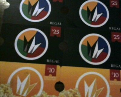 Regal Cinema Gift Cards - Movies and Concession