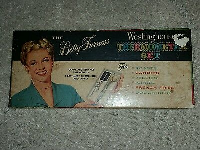 Vintage Betty Furness Westinghouse Themometer Set W/original Box-New