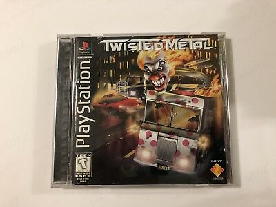 Twisted Metal (Sony PlayStation 1, 1995) complete MINT ps1