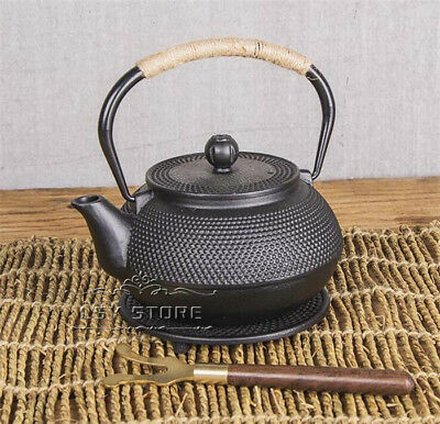 Japanese-style Cast Iron Tea Pot Kettle Teapot Infuser Drinkware 800ml