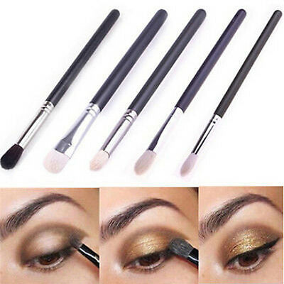 Hot 4Pcs Cosmetic Makeup Brushes Set Eyeshadow Eye Pencil Brush Jessup