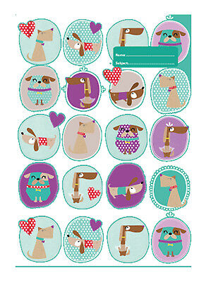 Spencil Exercise Book Covers A4 Spotty Dog-Pack of 6